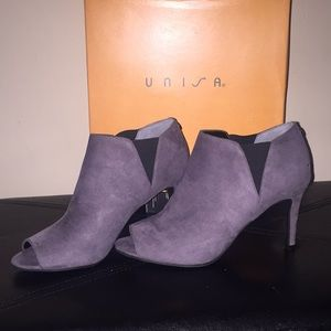 Unisa Shoes - New- Suede ankle boots size 8M